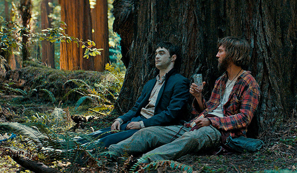 SWISS ARMY MAN (2016) Daniel Radcliffe and Paul Dano